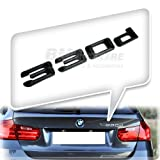 330d REAR BOOT TRUNK LETTER EMBLEM BADGE BMW E90 E91 E92 E93 F30 F31
