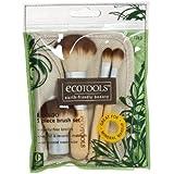 Authentic Organic Natural EcoTools BAMBOO Starter Makeup Brush Set Eco Tools Make up