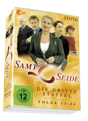 Samt & Seide - Staffel 3/Folgen 13-24 auf 3 DVDs!