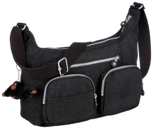 Kipling Women's Jarita Shoulder Bag (Across Body) Black