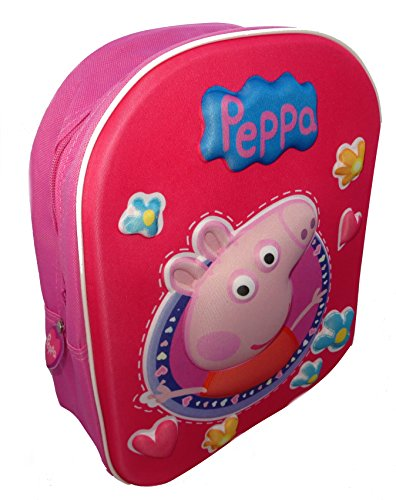 Peppa Pig Girl's 3D Novelty Backpack (Peppa Pig Play D compare prices)