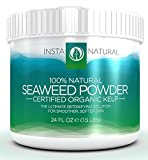 Seaweed Kelp Powder For Cellulite - Certified Organic & 100% Natural - For Facial Masks and Wraps for Body - Our Ascophyllum Nodosum Powder is the Ultimate Detox Solution - Tone Your Body and Achieve Smoother, Softer Skin
