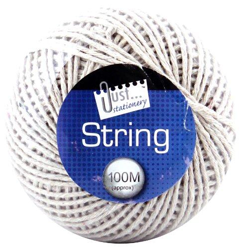 tallon-just-stationery-100m-string-ball-white