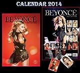 BEYONCE 2014 CALENDAR + BEYONCE KEYRING