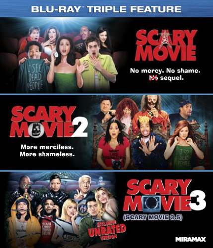 Scary Movie 1-3 [Blu-ray]