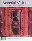 img - for Material Visions a Gallery of Miniature Art Quilts book / textbook / text book