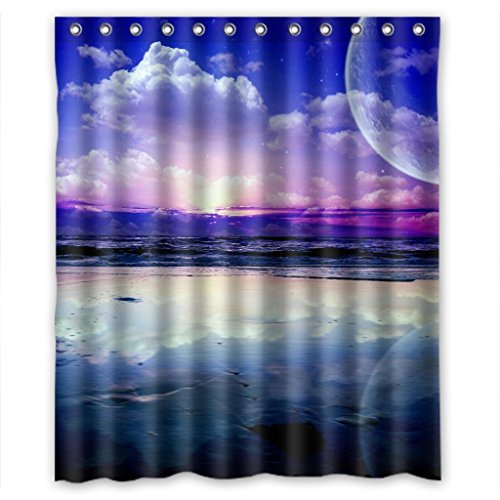 "Sale alerts for Malcolm-Fashion Blue sunny sky Beautiful Scenery Shower Curtain Measure 60""(w)*72""(h) - Covvet"