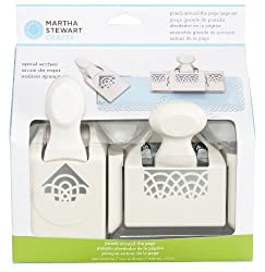 Martha Stewart Crafts Spiral Arches Around the Page Punch, Large
