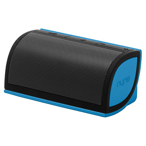 NYNE Multimedia Inc Mini Portable Bluetooth Speaker (Black/Blue)
