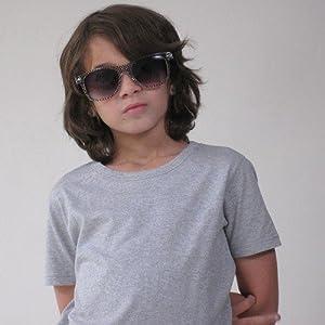 【感覚・触覚過敏症】【アトピー】【敏感肌】 子供服:ナチュラルTシャツ:グレー (XS)