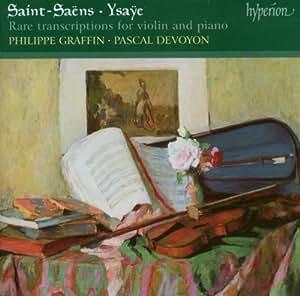 Rares Transcriptions Pour Violon Et Piano