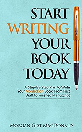 step by step writing a book