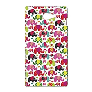 Mobile Cover Shop Glossy Finish Mobile Back Cover Case for Sony Xperia M2