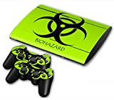 NuoYa001 Skin Sticker Decal For PS3 PlayStation 3 Super Slim 4000 +2 Controllers #70