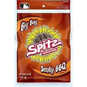 Amazon.com : SPITZ Smoky Sunflower Seed, BBQ, 6-Ounce