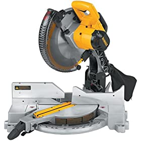Factory-Reconditioned DEWALT DW715R Heavy-Duty 15 Amp 12-Inch Compound Miter saw