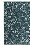 angelo:HOME by Surya Chapman Lane CHLN-9012 Transitional Hand Tufted 100% Wool Teal Green 2' x 3' Floral Accent Rug
