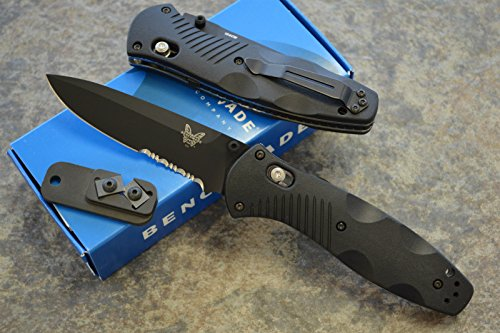 Benchmade 580SBK Barrage Assisted Opening Knife with FREE Benchmade Sharpener