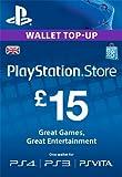 PSN CARD 15 GBP WALLET TOP UP [PS4, PS3, PS Vita PSN Code - UK account]