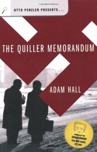 The Quiller Memorandum (Otto Penzler Presents...)