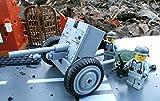 Modbrix 2180 - ✠ Bausteine Panzer Abwehrkanone PAK Stellung & inkl. custom Wehrmacht Soldaten aus original Lego© Teilen ✠ thumbnail