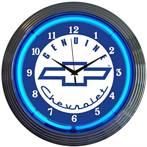 neonetics-cars-and-motorcycles-genuine-chevrolet-neon-wall-clock-15-inch-blue-chevy