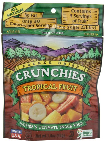 Crunchies - Freeze Dried Fruit Snack Tropical