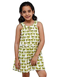 Oxolloxo Girls cotton dress