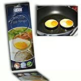 3 STAINLESS STEEL BREAKFAST FRIED EGGS RINGS FRYING COOKING OVEN COOKER SAFE PA