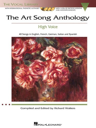 The Art Song Anthology: With 3 CDs of Recorded Diction...