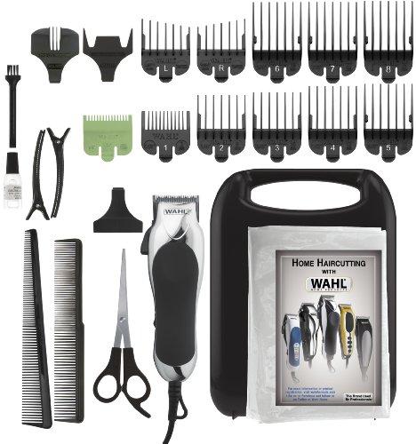 Wahl 79524-2501 Chrome Pro 24-Piece Haircut Kit