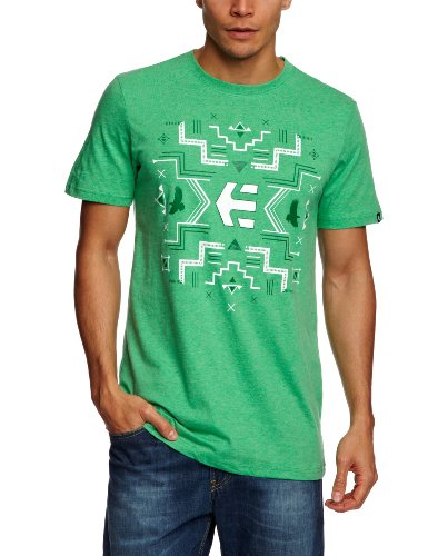 Etnies Tribe Shortsleeve Printed Men's T-Shirt Green/ Heather X-Large