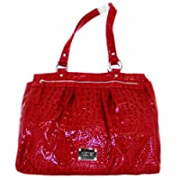 Nine West Plandome Large Tote (Dark Red)