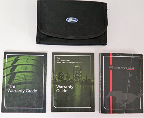2012 FORD MUSTANG OWNER MANUAL - US (2012 Ford Mustang Owners Manual compare prices)