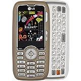 LG Rumor 260 Prepaid Phone, Champagne (Kajeet)