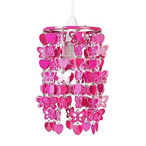 Abat jour abat jour lustre suspension pour enfants rouge for Lustre ou suspension