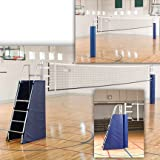 Sport Supply Group Aluminum Power Volleyball System without Ground Sleeves, Royal