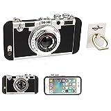 携帯電話ケース,iPhone 6 6s plus 超薄型耐衝撃 防水ケース 防塵耐衝撃ケース 防水ジャケットカメラ (iPhone 6/6s plus, 黒)
