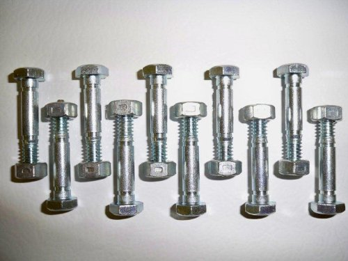 Why Choose The 10 Pack, Shear Pins (Bolts) and Nuts, Replaces Ariens 532005, 53200500, 05907100