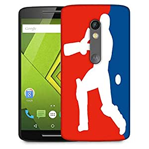 Snoogg Cricket Is Life Designer Protective Phone Back Case Cover For Moto G 3rd Generation