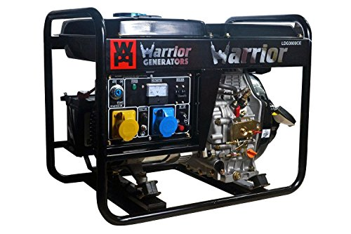 generator warrior 2700 watt diesel notstromaggregat. Black Bedroom Furniture Sets. Home Design Ideas