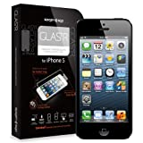 SPIGEN SGP iPhone 5 Screen Protector Glass [GLAS.tR] Rounded Edges Glass Screen Protector Anti Chip