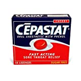 Cepastat Cherry, 18 Lozenges Box (Pack of 6) ~ Cepastat