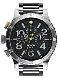 Nixon 48-20 Chrono Black Dial Stainless Steel Male Watch A486-000