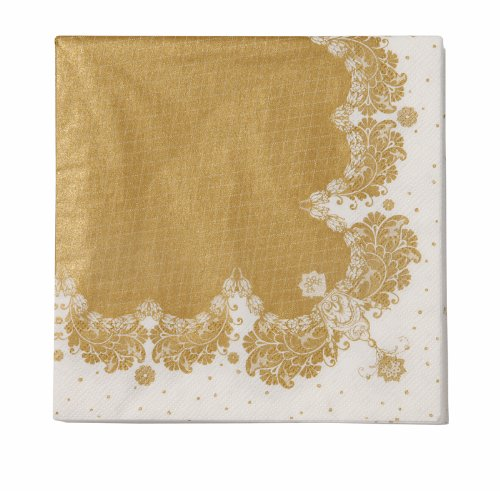 party-porcelain-napkin-pack-of-20-gold