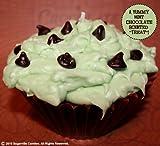 MINT CHOCOLATE CHIP- Jumbo Cupcake Candle