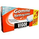 Vigor - 5064 - Gomme Nettoyante - Etui de 3 Gommes + 1 gratuite