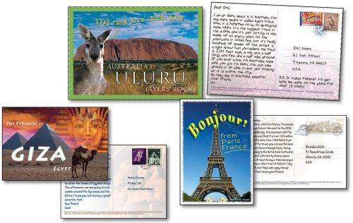 Carson Dellosa Postcards from Around the World Bulletin Board Set (110028) (World Postcards compare prices)