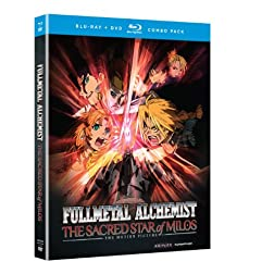 Fullmetal Alchemist Brotherhood: The Sacred Star of Milos Movie (Blu-ray/DVD Combo)