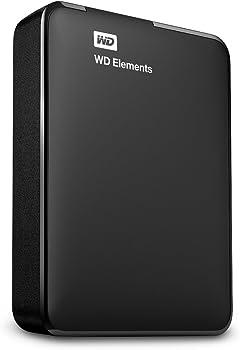 WD Elements WDBU6Y0020BBK 2TB USB 3.0 Portable Hard Drive